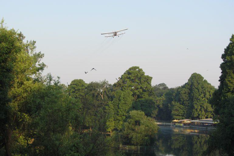 Dezinsecție aeriană, în perioada 11-12 iulie 2020