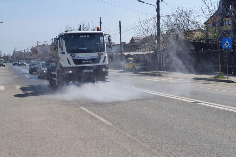 Graficul de intervenție pentru dezinfecția străzilor din municipiul Craiova în perioada 28.03-29.03.2020